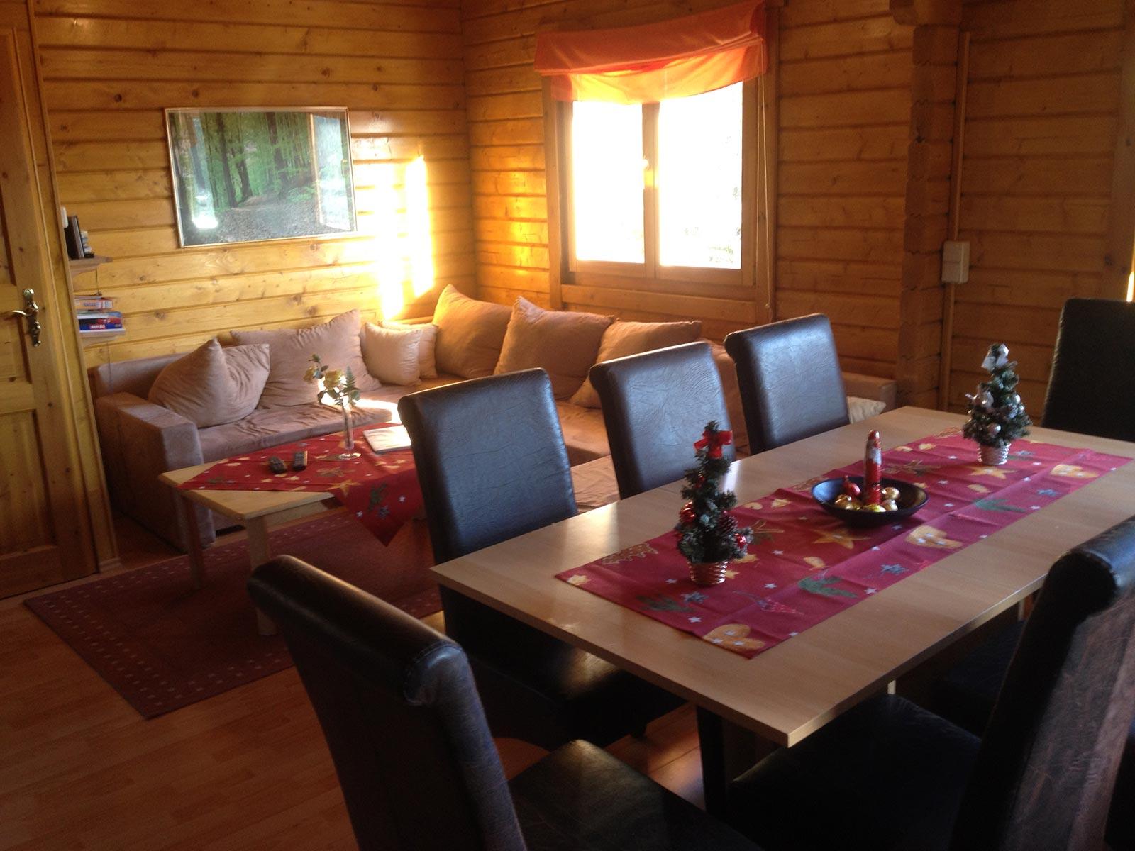 Dekoration Wohnzimmer Weihnachten Ein Gerumiges Blockhaus Im Harz Fr Bis Zu 8 Personen